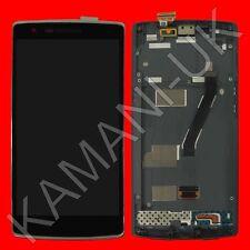 Remplacement oneplus one 1 + A0001 complet numériseur écran tactile lcd avec cadre
