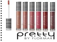Liquid MATTE Lipstick Pretty by Flormar 6 Shades Long-lasting Intense Colors