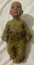 VTG 1990 Lee Middleton Doll With Indian Clothes Set Rare Collectible FreeSH