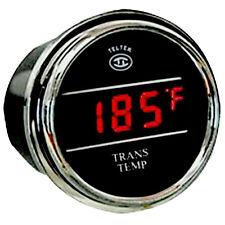 Teltek Transmission Temperature Gauge Kit for Any Semi, Pickup Truck or Car