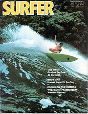 SURFER MAGAZINE September 1977 Vol 18 No 3 EXCELLENT CONDITION!!