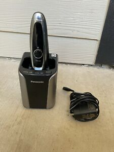 Panasonic Arc5 Automatic Cleaning/Charging Wet/Dry Electric Shaver- Silver Mint