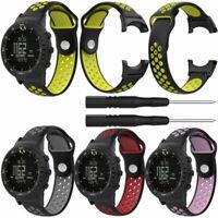 Silikon Armband Uhrenarmbänder Strap Watch Band Ersatzarmband für Suunto Core
