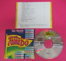 CD RED RONNIE favolosi anni 60 1967 6 POOH PAVONE CASELLI PROFETI (C33)*no lp mc