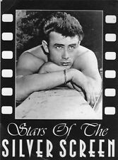 Unused postcard showing James Dean Stars of the Silver Screen series No 9613