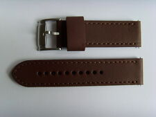 FOSSIL Original Rechange Bracelet en cuir JR1475 de montre brun 24 mm