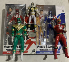 Power Rangers 2 Lightning Collection 3 Bandai Green White Red Blue Hasbro Lot