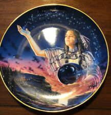 Royal Doulton 90's Franklin Mint Maiden Of The Evening Stars By David Penfound