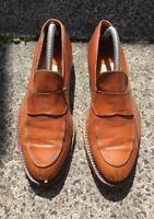 Chanel Tan Brown Loafers EU 37 size UK 3.5-4 Vintage