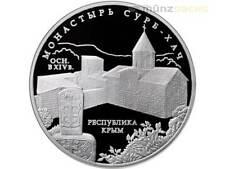 3 rublos Surb-Khach Monastery Crimea Crimea, Rusia Russia 1 Oz plata pp 2017
