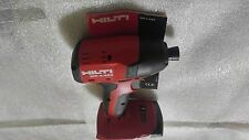 "HILTI, SID 4-A22 COMPACT1/4"" IMPACT DRIVER   22 Volt (TOOL ONLY)"