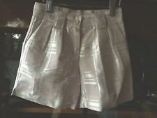 Romeo Gigli Jr Italian Designer Brand Girls Satin Blush Color Shorts Size 6