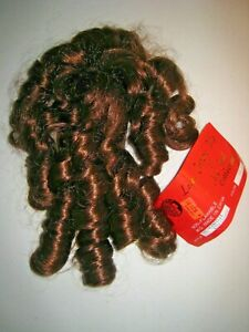 Med. Brown Red SOUTHERN BELLE Hair ATTACHMENT Extension - Lacey Costume Wig 30