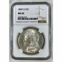 1899 O Morgan Dollar NGC MS65 *Rev Tye's* #0020140