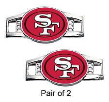 San Francisco 49ers Shoe Charms / Paracord Charms