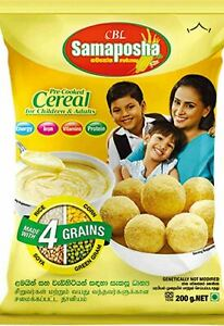 Samaposha Precooked Cereal for Children and Adults 100% Natural and Nutrition