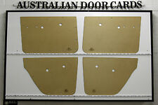 Holden HD, HR. Door Cards. Blank Trim Panels. Sedan, Wagon. Quality Masonite