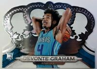 2018 Panini Crown Royale Devonte' Graham Rookie RC #111, Charlotte Hornets