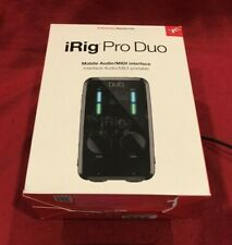 iRig Pro Duo Dual MIDI Interface For Iphone, Ipad, Android - TESTED WORKING