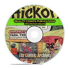 Quality Comics, Modern Comics, The Spirit, Barker, 147 Golden Age Comics DVD D22
