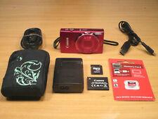 CANON IXUS 155 Rot 20.1MP + 10-fach Zoom +Zubehörpaket Tasche 16MP-SD-Karte #12