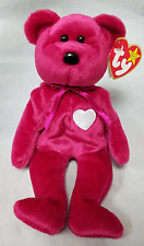 Ty Retired Beanie Baby Valentina The Bear - Extremely Rare With 4 Errors