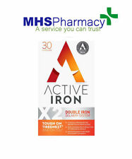 Active Iron X2 Double Iron Delivery System - 30Capsules - New