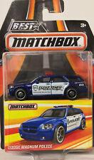 MATCHBOX Best of Dodge Magnum Police Series 2 1:64 Scale