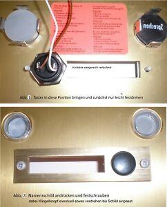 Siedle - Neue! Klingeltaster 2 Stück (TL111-2; TL121-2)