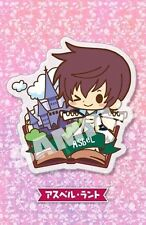 Tales of Friends Asbel Lhant Graces Clear Brooch Pin NEW