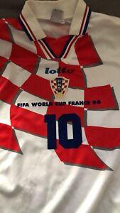 Maglia Vintage originale lotto Boban Croazia 1998 - mondiali 1998