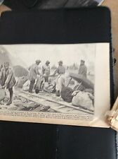 M5-6 ephemera  WW1 1918  picture indian labour corps