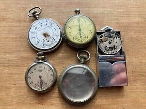 Dollar Pocket Watch & Case Lot, Ingersoll, New England, American