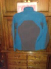 Black Diamond soft shell Jacket Women Teal/ gray size Small euc