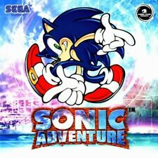 SEGA Dreamcast Spiel - Sonic Adventure 1 mit OVP OVP beschädigt