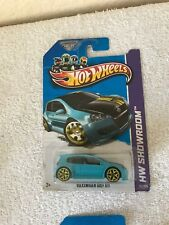 2013 Hot Wheels Volkswagen Golf GTI   FREE Protector Rare