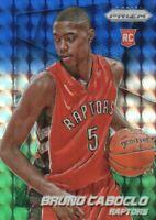 2014-15 Panini Prizm Blue Green Mosaic #298 Bruno Caboclo Toronto Raptors