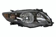2009 2010 TOYOTA COROLLA S/XRS MODEL HEADLIGHT HEADLAMP RIGHT PASSENGER (BLACK)