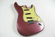 MJT Official Custom Vintage Age Nitro Guitar Body Mark Jenny VTS Burgundy Mist