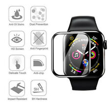 3D Curved 9H Tempered Glass Screen Protector Film For Apple Watch Series 3/4/5~