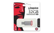 Kingston Data Traveler 100 G3 32GB USB 3.0 Stick Pen Memory Flash Drive