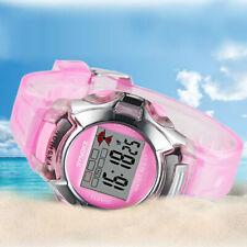 Kid Watch Waterproof Sport LED Alarm Digital Wristwatch for Girl Pink Gift US