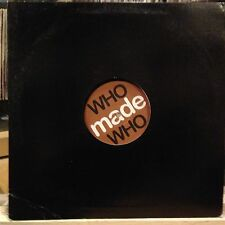 """[EDM]~EXC 12""""~WHO MADE WHO~The Loop~Rose~Stinnerbass~[2005~GOMMA~GERMAN IMPORT]~"""