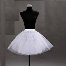 2016 Petticoat Rock'n Roll 50er Stil Pettycoat Rockabilly Unterkleid Weiss 50cm
