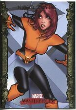 Marvel Masterpieces 2007 UD Gold Border Parallel Base Card #47 Kitty Pryde