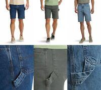New Wrangler Men Denim Carpenter Shorts All Sizes Three Colors