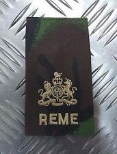 Genuine British Army Camo REME SERGEANT MAJOR Rank Slide / Epaulette - NEW