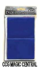 BLUE ULTRA PRO DECK PROTECTORS MTG WoW POKEMON EPIC