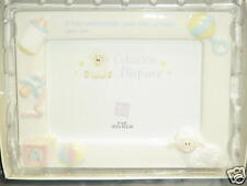Russ Berrie Coleccion Hispana Baby Frame Porcelain NEW!