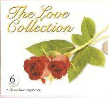 THE LOVE COLLECTION - 6 CD BOX SET - BAND OF GOLD, MELODIES OF LOVE & MANY MORE